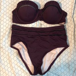 Victoria's Secret high waisted swimsuit